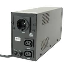 eg ups with lcd display 650 va black eg ups 031