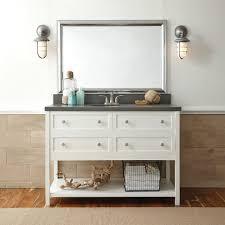 bathroom cabinets silver framed wall mirror bathroom vanity