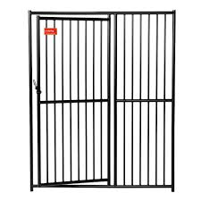 lucky dog european style 6 ft h x 5 ft w kennel gate cl 65101
