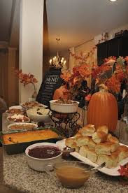 and seek to show hospitality thanksgiving dinner buffet write menu