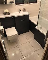 ellie u0027s monochrome bathroom customer bathrooms victorian plumbing