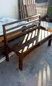 Wooden Pallet Furniture Diy Wooden Pallet Bench 101 Pallet Ideas