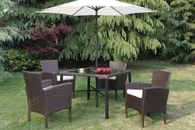 Outdoor Table Set by 6 Pc Patio Set