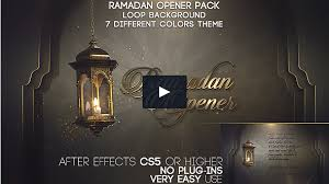 14 video and graphic templates for ramadan and eid to spread well