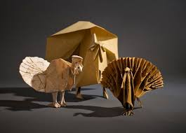mit geeks create an origami thanksgiving wired