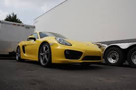 gold porsche boxster 981 cayman boxster turbo kit tpc racing