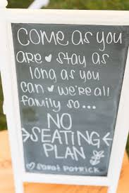 Wedding Seating Signs The 25 Best No Seating Plans Ideas On Pinterest Reception