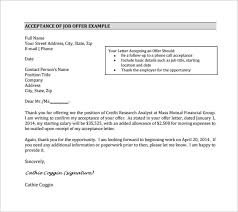 sample job acceptance letter 14 free documents in pdf word