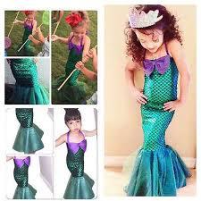 Princess Ariel Halloween Costume 2017 Halloween Mermaid Tail Costume Princess Ariel