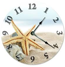 themed clocks coastal wall clocks beachfront decor wall clocks