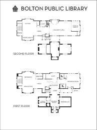 floor plan bolton public library