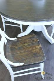 kitchen table refinishing ideas painted oak dining table and chairs dining room table set in oak and