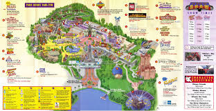 Disney Hollywood Studios Map Disney Mgm Studios Guidemaps 2000 1996 Page 4