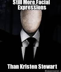 Slender Meme - facial expressions slender man know your meme