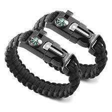 bracelet survival kit images X plore gear emergency paracord bracelets set of 2 the ultimate jpg