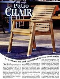 deck chair plans myoutdoorplans free woodworking plans and