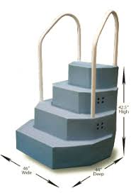 wedding cake pool steps wedding cake above ground pool steps