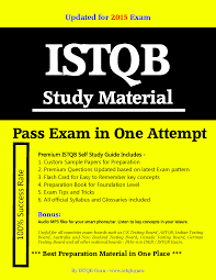 istqb certification sample question papers with answers