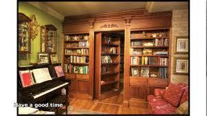 furniture home wonderful sliding hidden bookcase door make