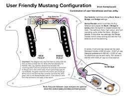 Wiring Diagram For Mustang Offsetguitars Com U2022 View Topic Mustang Is The Only Fender For Me