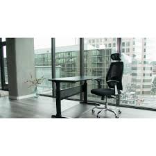 Adjustable Height Desk Crank by Buddy Products 56 In H X 29 In W X 20 In D Stand Up Height Work
