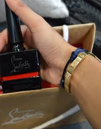 louboutin classic red and black nails devina xsara