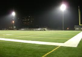 Football Field In Backyard Stadium In Houston Artificial Grass Houston Texas