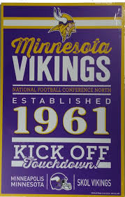 vikings wooden and acrylic signs dome souvenirs plus located