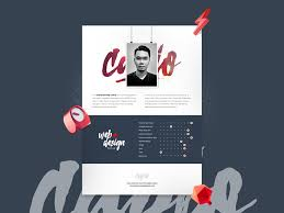 creative resume templates free download psd design logo 4 creative resume template psd psdblast