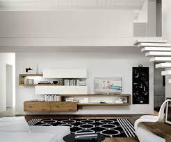 Wohnzimmer Modern Hell Livitalia Wohnwand C25 Tvs