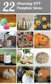 Thanksgiving Pumpkin Decorations 20 Amazing Diy Pumpkin Decorations A Piece Of Rainbow