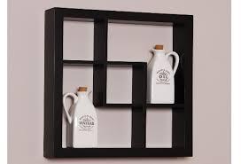 Black Wall Bookshelf Dadka U2013 Modern Home Decor And Space Saving Furniture For Small