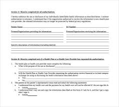 hipaa compliant authorization form hipaa authorization