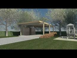 Modern Carport Clifford O Reid Architect Modern Carport Design Youtube