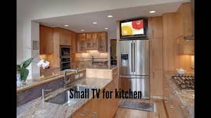 small tv for kitchen small kitchen desgin ideas youtube