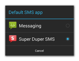 sms apps for android changes for sms apps coming in kitkat could this they are