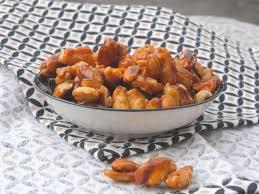 cuisiner les chouchous recettes de cacahuète et chouchou