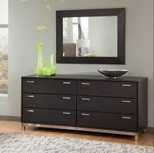 Decorating Bedroom Dresser Marvelous Decorating Ideas Using Rectangular Black Wooden Cabinets