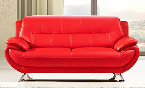 Red Sofa Sets by Cool Red Leather Sofas U2013 Interiorvues