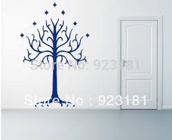 home decor wall sticker lotr lord of the rings white tree of