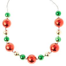 green and gold ornament oversized necklace s