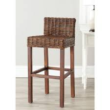 Safavieh Furniture Outlet Store Safavieh Cypress 29 5 In Croco Bar Stool Fox6502a The Home Depot