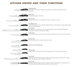 types of kitchen knives and their uses kitchen knives types semenaxscience us
