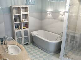 bathroom vinyl flooring with white cabinet for small spaces