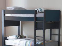 Harvard Single Bunk Bed With Desk And Chair In Silver Kids Room - Snooze bunk beds