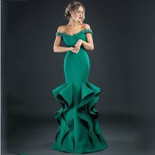 design abendkleider design beaded green evening dresses mermiad emerald formal
