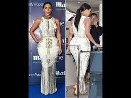 Nautical Theme Dress - kim kardashian flaunts her killer curves and famous in