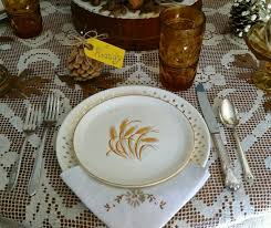 vintage feature wheat patterns are for the thanksgiving