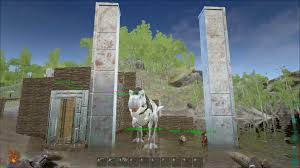 Ark House Designs by Ark Survival Evolved Metal Railing X X Us 2017
