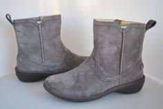 womens ugg boots uk size 9 ugg butte metal leather boots 5521 u s size 12 uk 11 uggaustralia